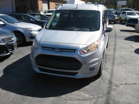 2015 Ford Transit Connect Wagon for sale at LAKE CITY AUTO SALES - Jonesboro in Morrow GA