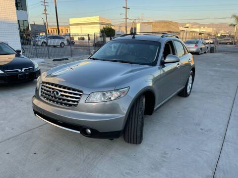 2006 Infiniti FX35 for sale at Galaxy of Cars in North Hollywood CA