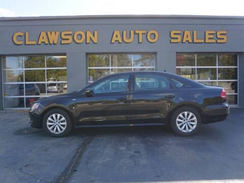 2014 Volkswagen Passat for sale at Clawson Auto Sales in Clawson MI