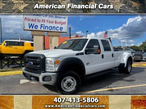 2016 Ford F-350 Super Duty for sale at American Financial Cars in Orlando FL