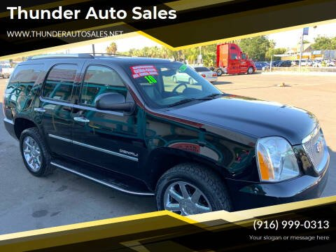 2010 GMC Yukon for sale at Thunder Auto Sales in Sacramento CA