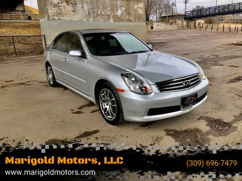 2006 Infiniti G35 for sale at Marigold Motors, LLC in Pekin IL
