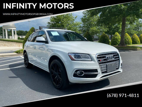2014 Audi SQ5 for sale at INFINITY MOTORS in Gainesville GA