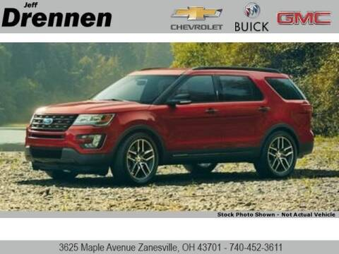2016 Ford Explorer for sale at Jeff Drennen GM Superstore in Zanesville OH