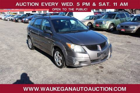 2003 Pontiac Vibe for sale at Waukegan Auto Auction in Waukegan IL