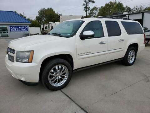 2008 Chevrolet Suburban for sale at Kell Auto Sales, Inc - Grace Street in Wichita Falls TX