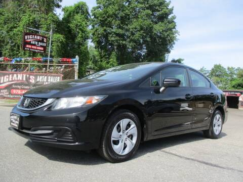2014 Honda Civic for sale at Vigeants Auto Sales Inc in Lowell MA