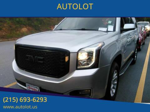 2015 GMC Yukon for sale at AUTOLOT in Bristol PA
