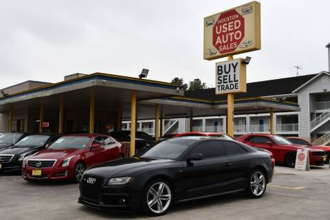 2010 Audi S5 for sale at Houston Used Auto Sales in Houston TX