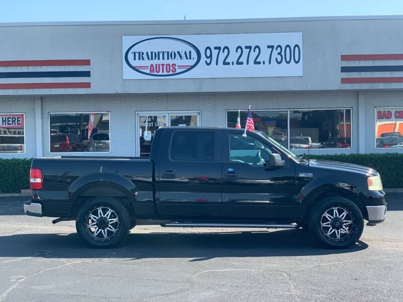 2007 Ford F-150 for sale at Traditional Autos in Dallas TX