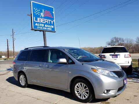 2013 Toyota Sienna for sale at Liberty Auto Sales in Merrill IA