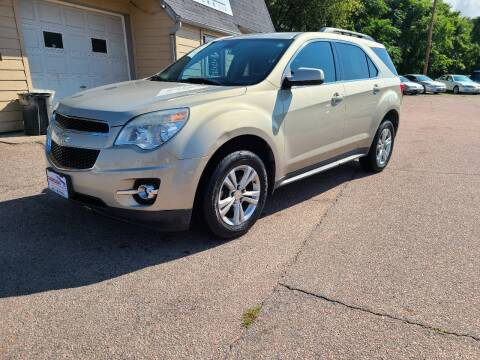 2010 Chevrolet Equinox for sale at Gordon Auto Sales LLC in Sioux City IA