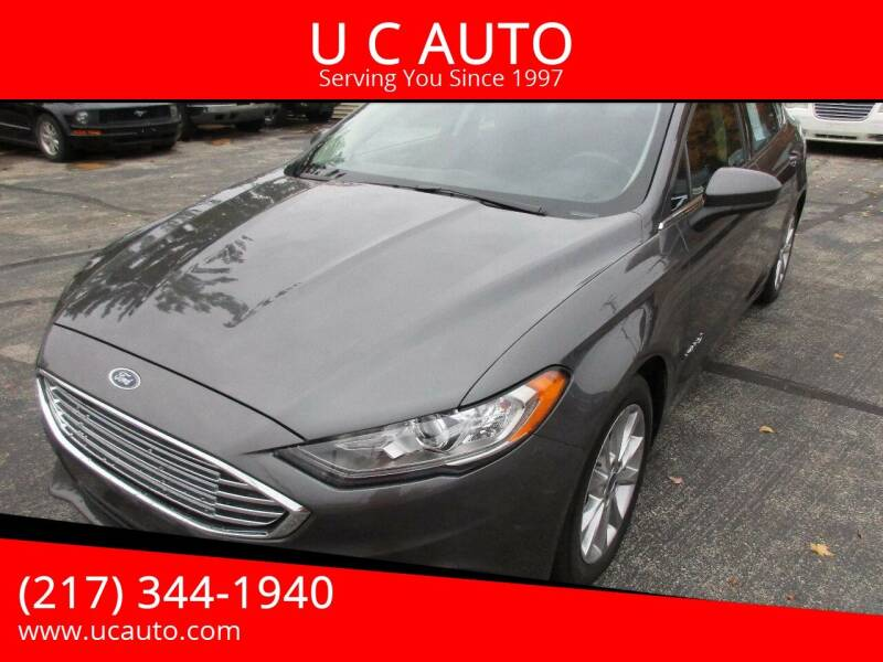 2017 Ford Fusion Hybrid for sale at U C AUTO in Urbana IL