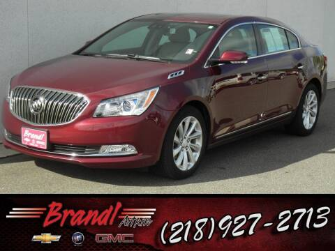 2016 Buick LaCrosse for sale at Brandl GM in Aitkin MN