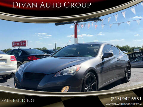 2011 Hyundai Genesis Coupe for sale at Divan Auto Group in Feasterville PA