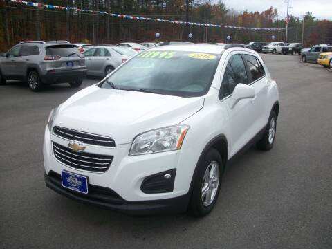 2016 Chevrolet Trax for sale at Auto Images Auto Sales LLC in Rochester NH