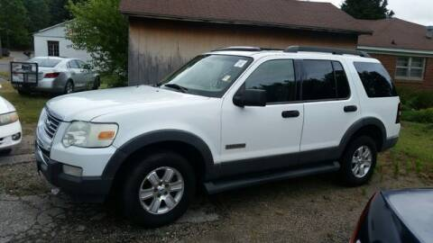 2006 Ford Explorer for sale at AFFORDABLE DISCOUNT AUTO in Humboldt TN