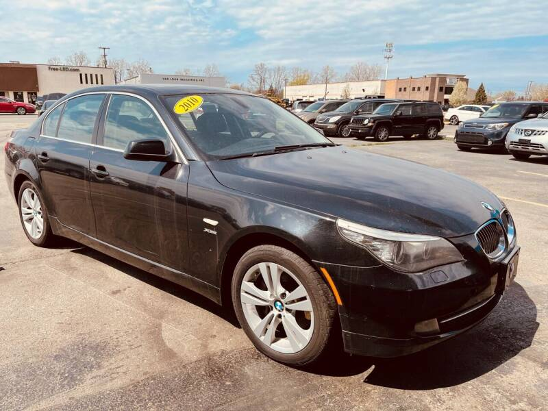 2010 BMW 5 Series for sale at Daniel Auto Sales inc in Clinton Township MI