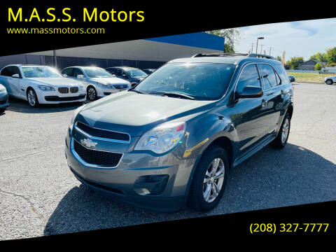 2013 Chevrolet Equinox for sale at M.A.S.S. Motors in Boise ID