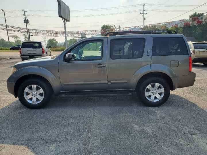 2007 Nissan Pathfinder for sale at Knoxville Wholesale in Knoxville TN