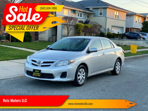 2013 Toyota Corolla for sale at Reis Motors LLC in Lawrence NY