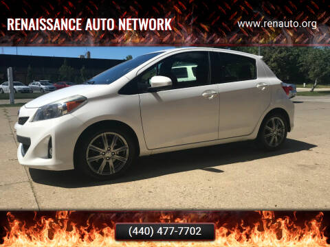 2014 Toyota Yaris for sale at Renaissance Auto Network in Warrensville Heights OH
