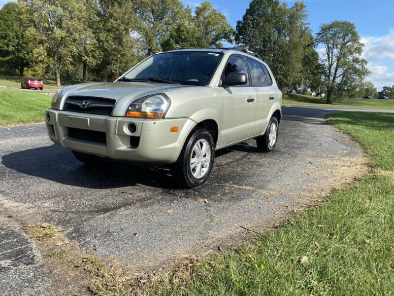 2009 Hyundai Tucson for sale at Moundbuilders Motor Group in Heath OH