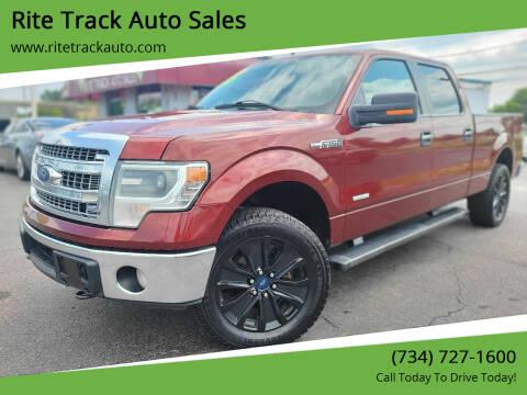2014 Ford F-150 for sale at Rite Track Auto Sales in Wayne MI