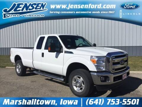 2016 Ford F-250 Super Duty for sale at JENSEN FORD LINCOLN MERCURY in Marshalltown IA