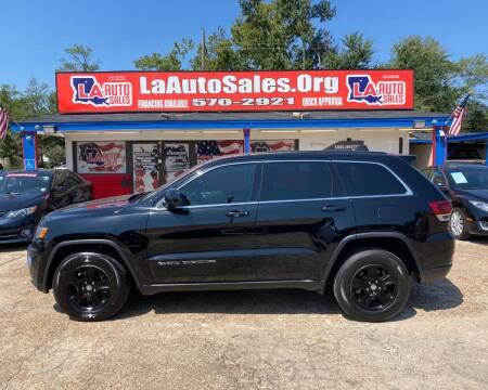 2017 Jeep Grand Cherokee for sale at LA Auto Sales in Monroe LA