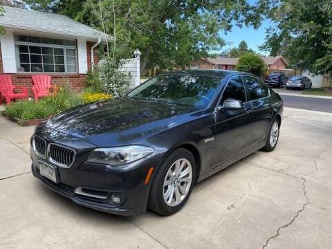 2015 BMW 5 Series for sale at The Car Guy in Glendale CO