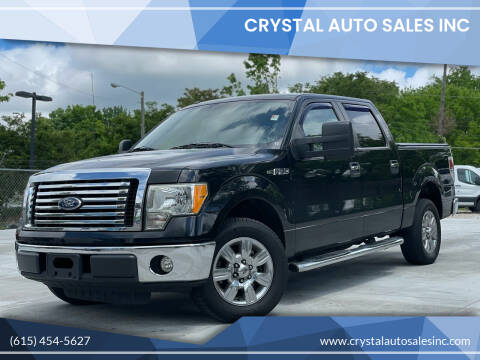 2010 Ford F-150 for sale at Crystal Auto Sales Inc in Nashville TN