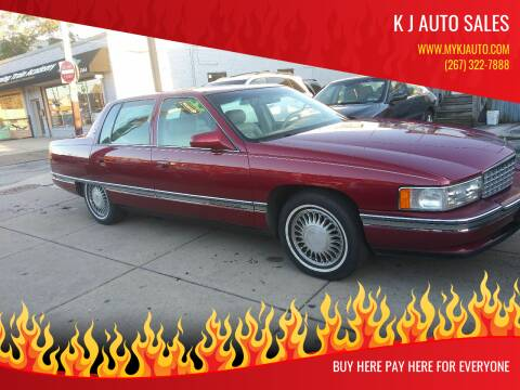 1995 Cadillac DeVille for sale at K J AUTO SALES in Philadelphia PA