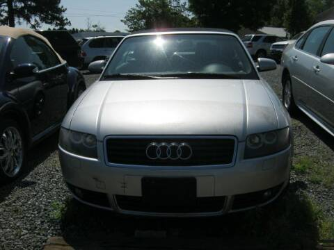 2005 Audi A4 for sale at Speed Auto Inc in Charlotte NC
