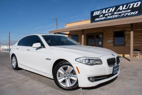 2013 BMW 5 Series for sale at Beach Auto and RV Sales in Lake Havasu City AZ