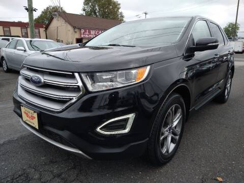2016 Ford Edge for sale at P J McCafferty Inc in Langhorne PA