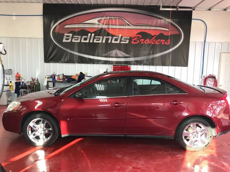 2008 Pontiac G6 for sale at Badlands Brokers in Rapid City SD