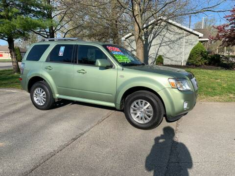 2009 Mercury Mariner for sale at Clarks Auto Sales in Connersville IN