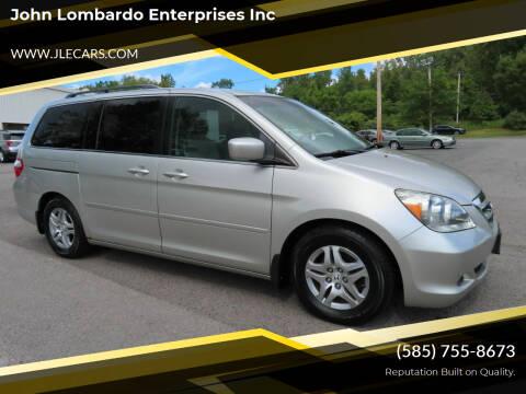 2007 Honda Odyssey for sale at John Lombardo Enterprises Inc in Rochester NY