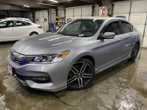 2016 Honda Accord for sale at Sonias Auto Sales in Worcester MA