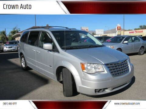 2008 Chrysler Town and Country for sale at Crown Auto in South Salt Lake City UT