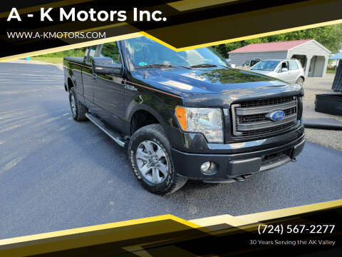 2014 Ford F-150 for sale at A - K Motors Inc. in Vandergrift PA