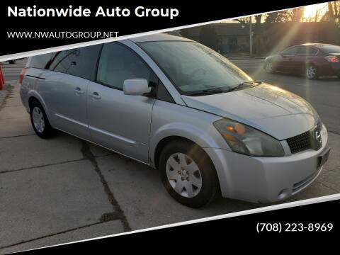 2005 Nissan Quest for sale at Nationwide Auto Group in Melrose Park IL