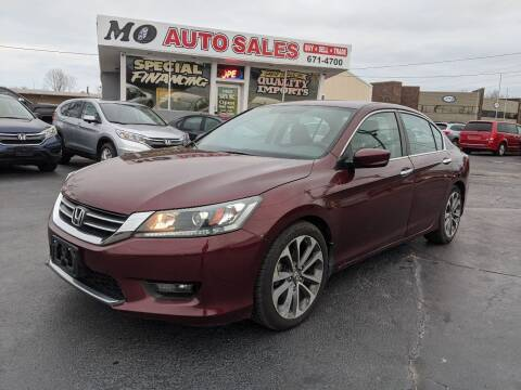 2015 Honda Accord for sale at Mo Auto Sales in Fairfield OH