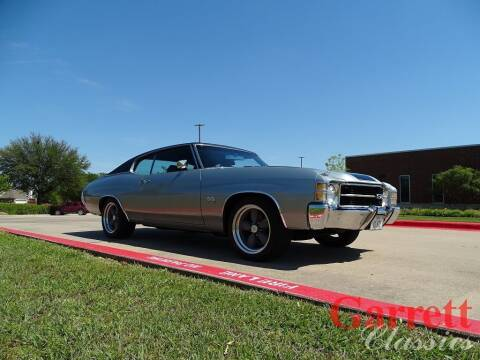 1971 Chevrolet Chevelle for sale at Garrett Classics in Lewisville TX