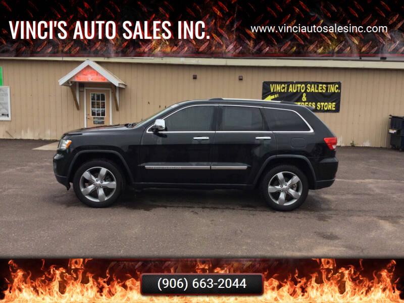 2011 Jeep Grand Cherokee for sale at Vinci's Auto Sales Inc. in Bessemer MI