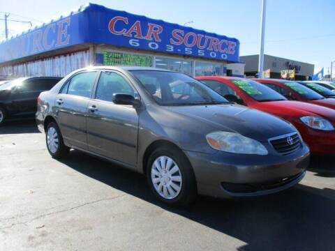 2005 Toyota Corolla for sale at CAR SOURCE OKC in Oklahoma City OK