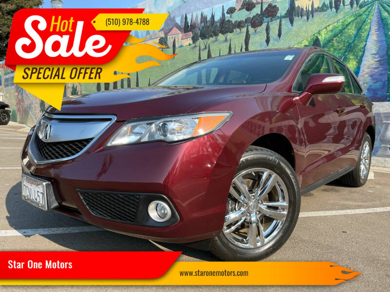 2014 Acura RDX for sale at Star One Motors in Hayward CA