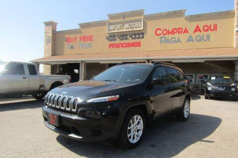 2016 Jeep Cherokee for sale at Import Motors in Bethany OK