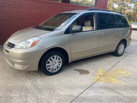 2004 Toyota Sienna for sale at Dreamers Auto Sales in Statham GA